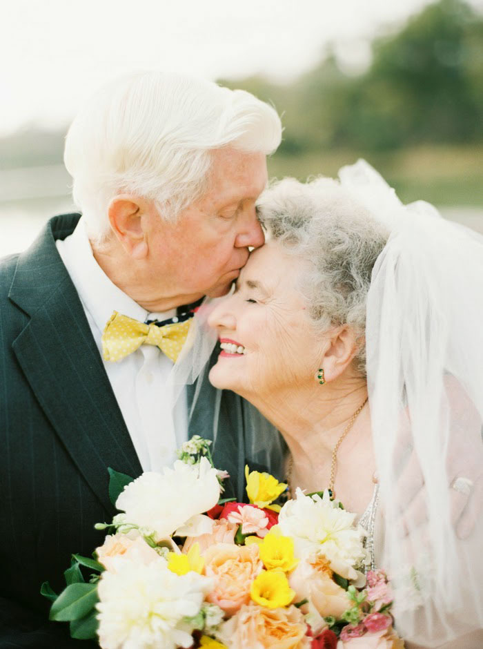 They've been married for nearly fifty years