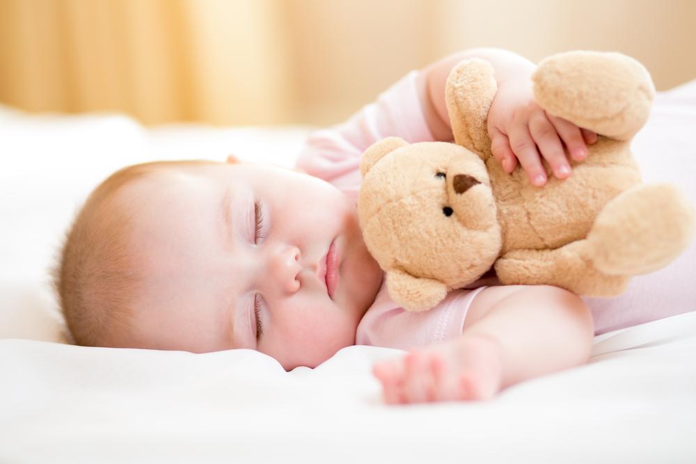 Keep silent! The baby is sleeping