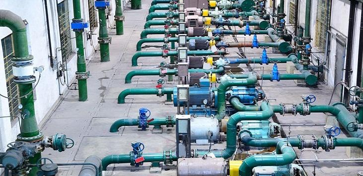 Hình ảnh hệ thống bơm nước