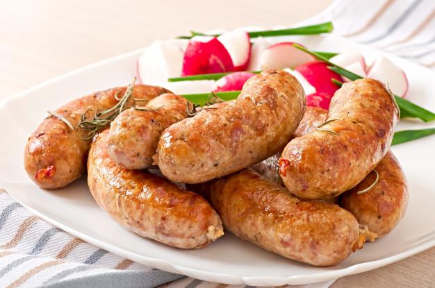 Sausages: xúc xích