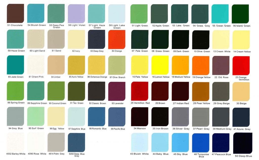 Bảng màu sắc trong tiếng Anh