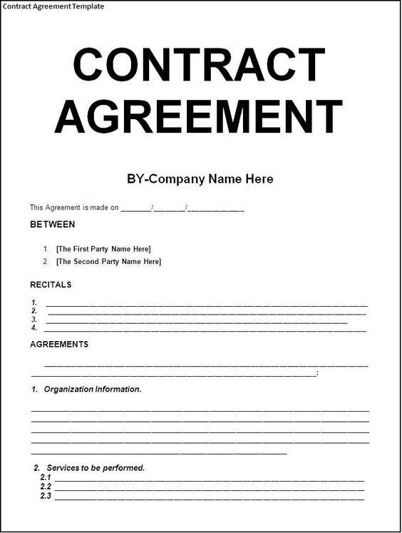 Cấu trúc trong hợp đồng thương mại