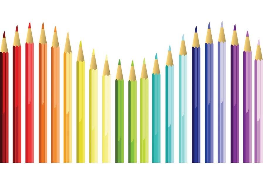 coloured pencil /ˈkʌlərdˈpensl/: bút chì màu