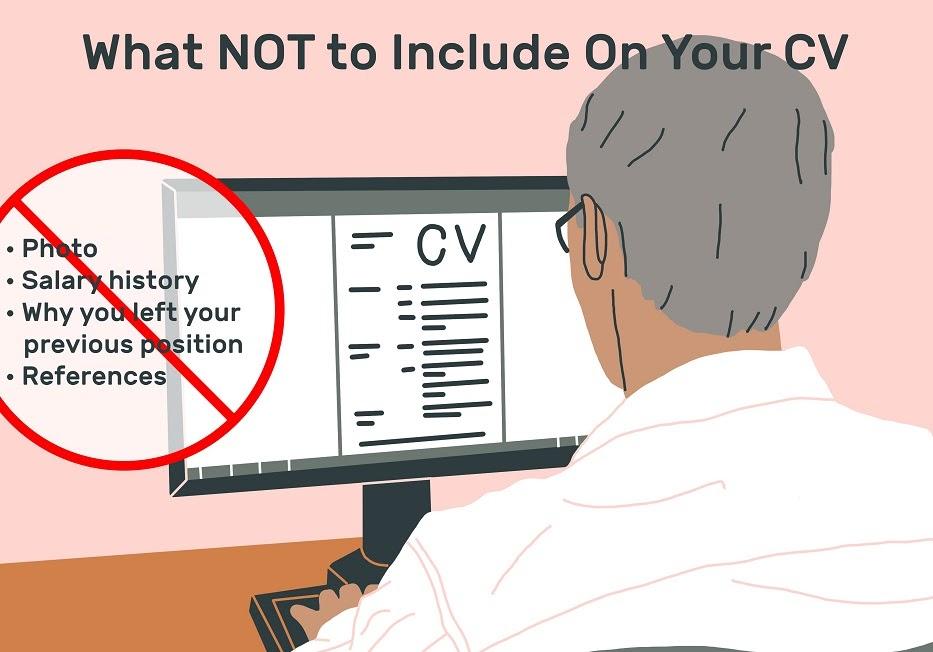 10 từ nên tránh khi đề cập trong CV