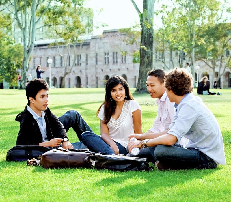 Bạn có nhiều cơ hội kết bạn với những sinh viên quốc tế