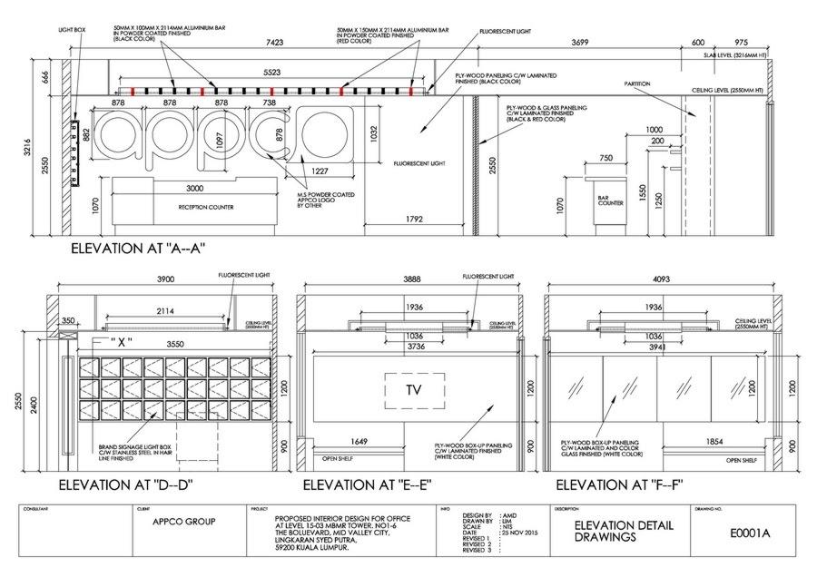 Detailed design drawings: bản vẽ thiết kế chi tiết