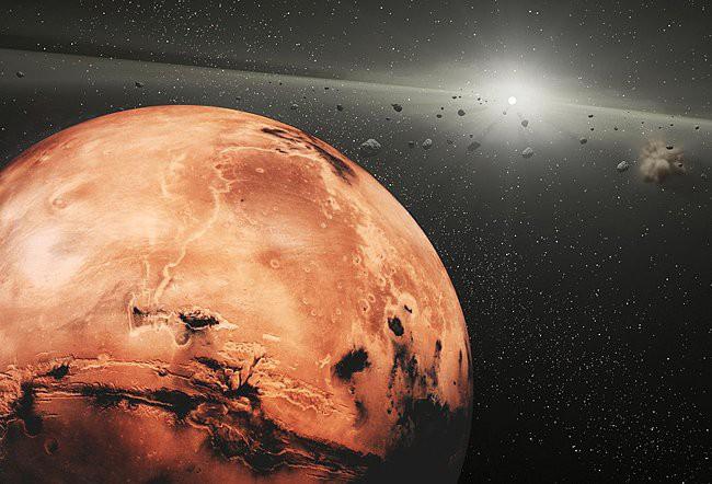 Ảnh: Sao Hỏa