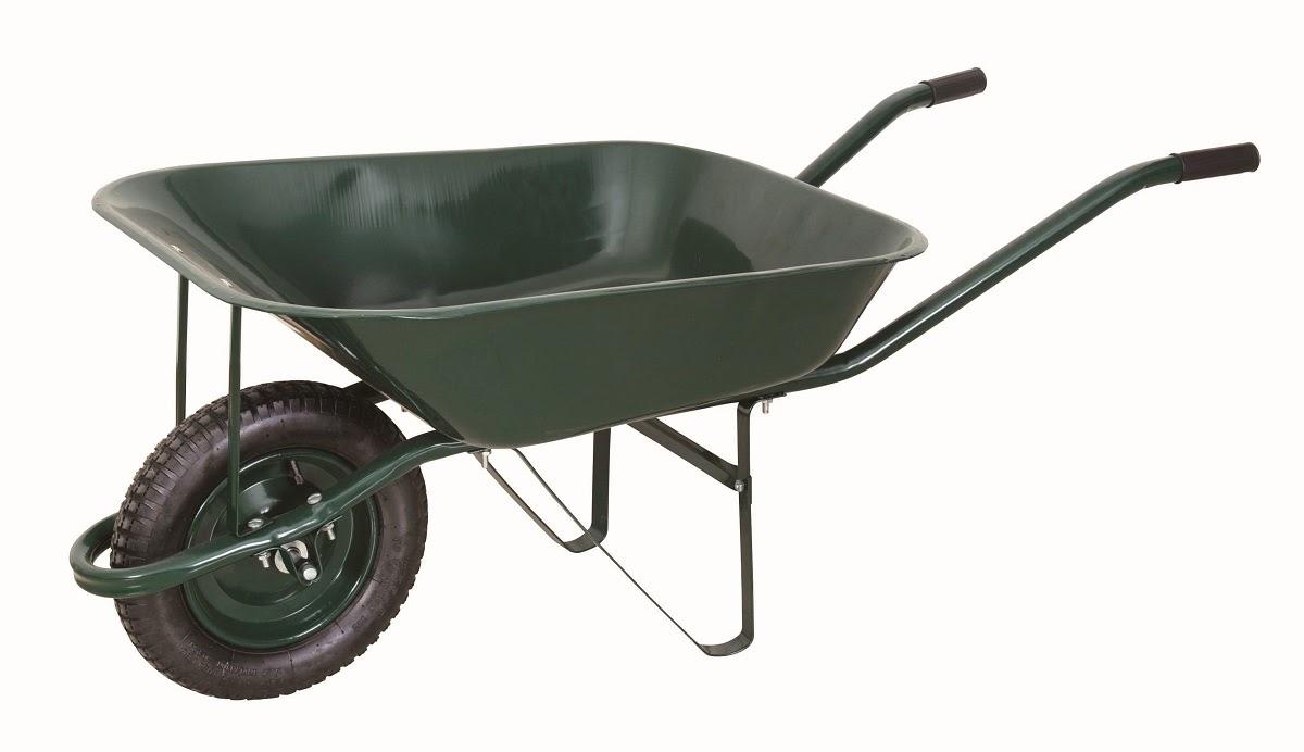 wheelbarrow: xe cút kít, xe đẩy tay