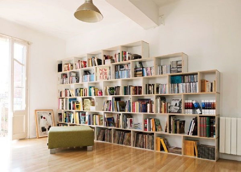 Bookcase/ bookshelf: Kệ sách
