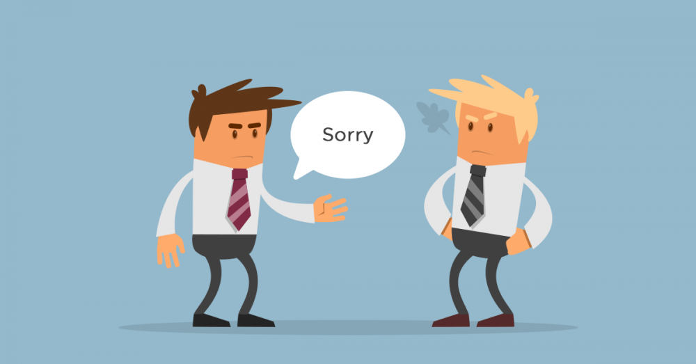 Đoạn hội thoại xin lỗi khách hàng – tiếng Anh giao tiếp công sở
