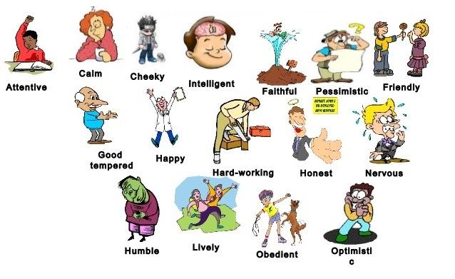 Các từ vựng miêu tả tính cách bằng tiếng Anh
