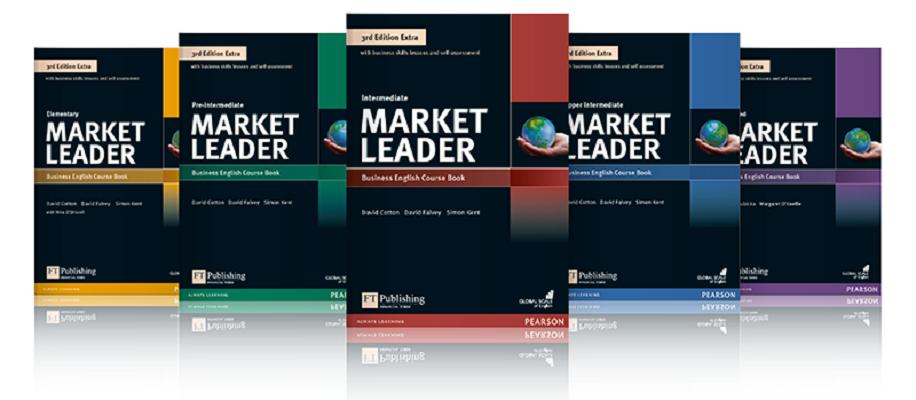 Bộ giáo trình tiếng Anh thương mại Market Leader