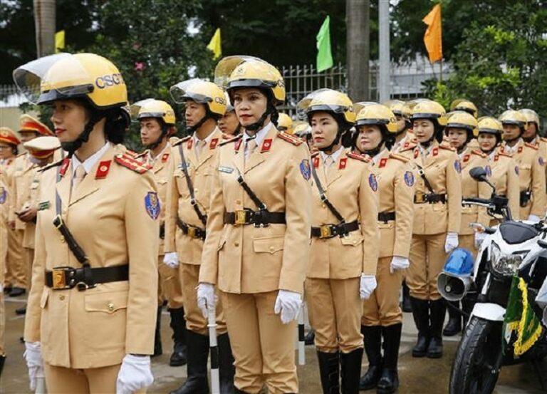 Từ vựng tiếng Anh cho lực lượng cảnh sát giao thông