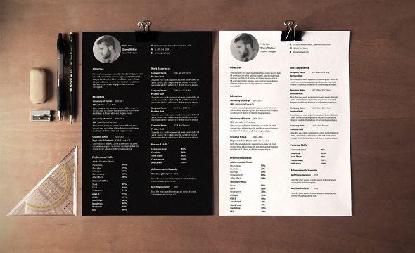 Download trọn bộ mẫu CV tiếng Anh thiết kế đẹp