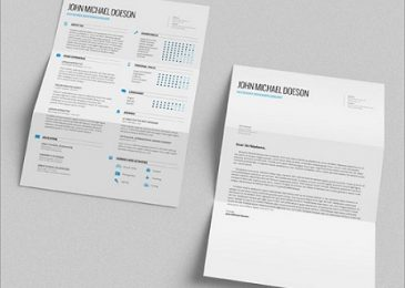 FREE Simple CV Template + Cover Letter