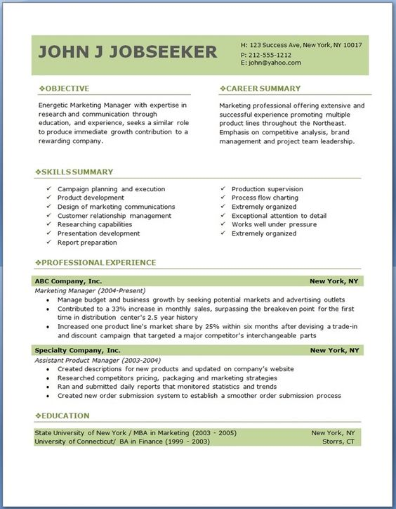 Free Professional Resume Template + Business card design