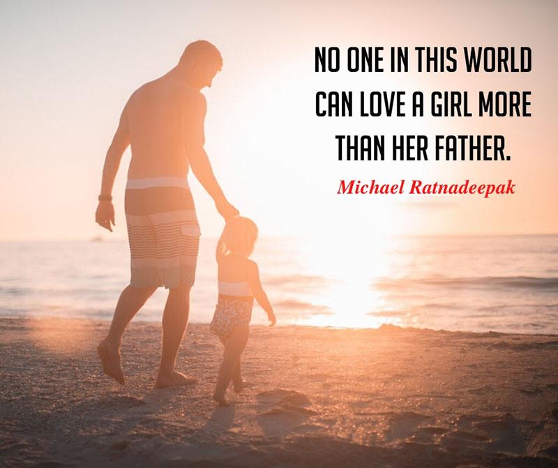 Danh ngôn giữa cha và con gái
