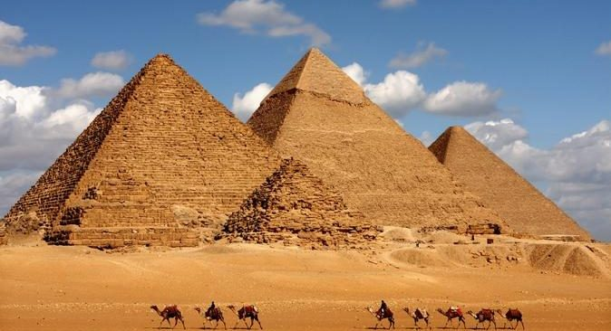 The Great Pyramid of Giza – Kim Tự Tháp Ai Cập.