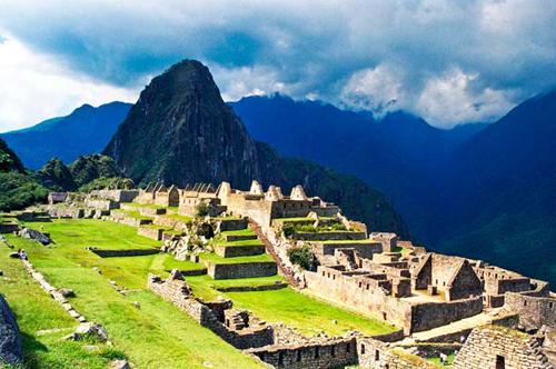 Machu Picchu – Pháo đài Machu Picchu của Peru.