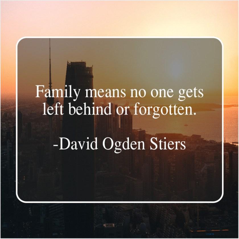 Những câu tiếng Anh hay về gia đình