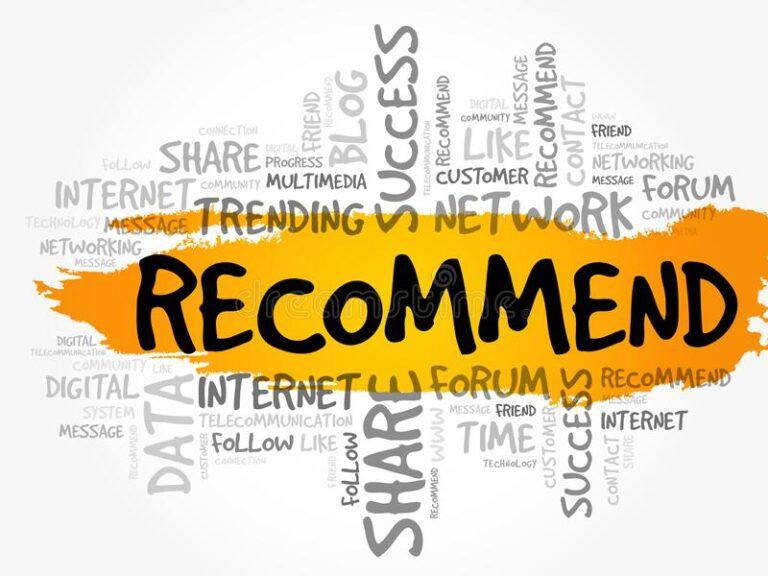 Recommend - Cấu trúc và cách sử dụng