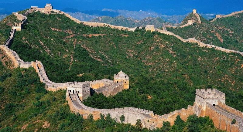 The great wall of China – Vạn Lý Trường Thành của Trung Quốc.